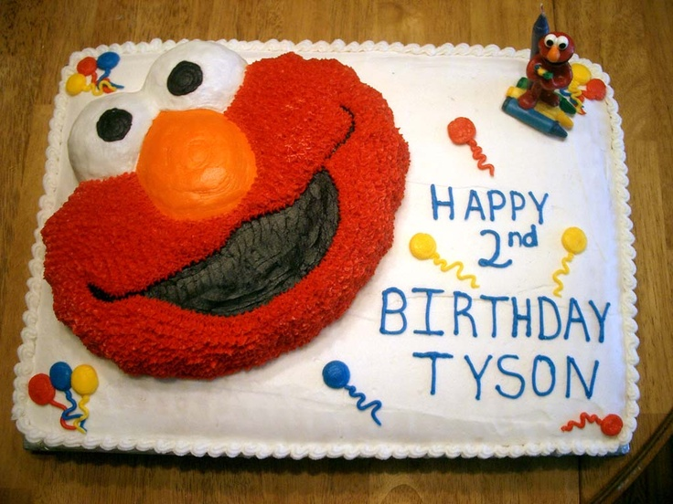 Elmo Cake Decor : Elmo Cake Cake decorating Pinterest