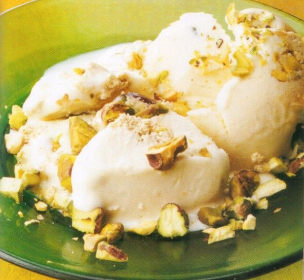 pistachio-halva-ice-cream | Gardening | Pinterest