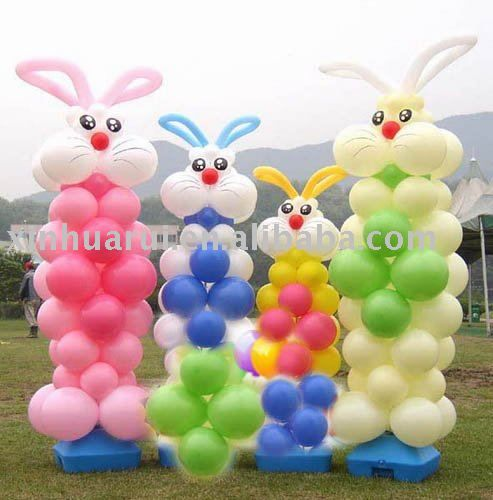 Easter Balloon Decor  Balloon Ideas  Pinterest