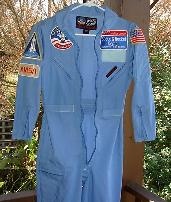 nasa jumpsuit blue - photo #1