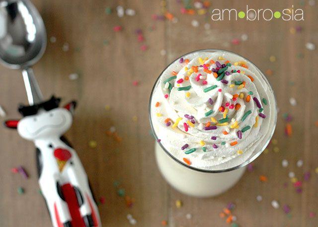 cupcake milkshake | sip. | Pinterest