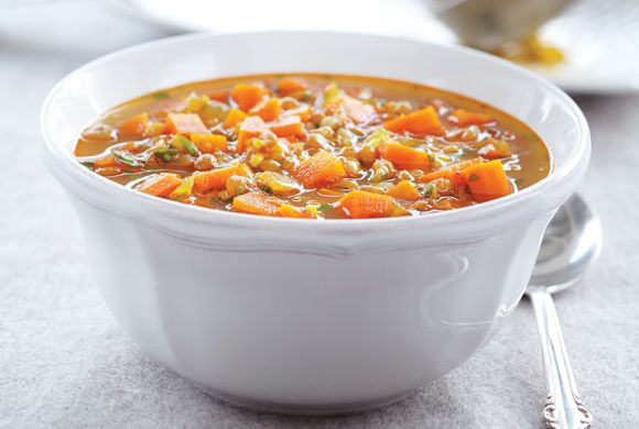 Canadian Living: Indian-Spiced Carrot Soup in the Slow Cooker