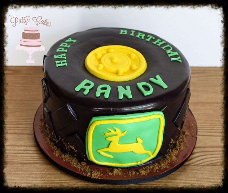 tractor tire cake