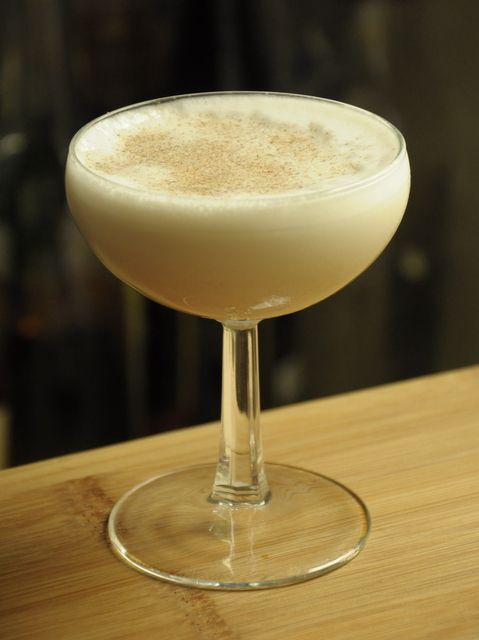 Brandy Alexander - a retro classic! -- had one of these on a ...