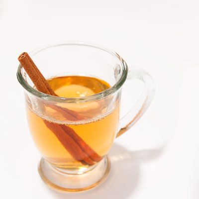 ... Calvados (apple brandy) into 2 ounces hot apple cider and garnish with