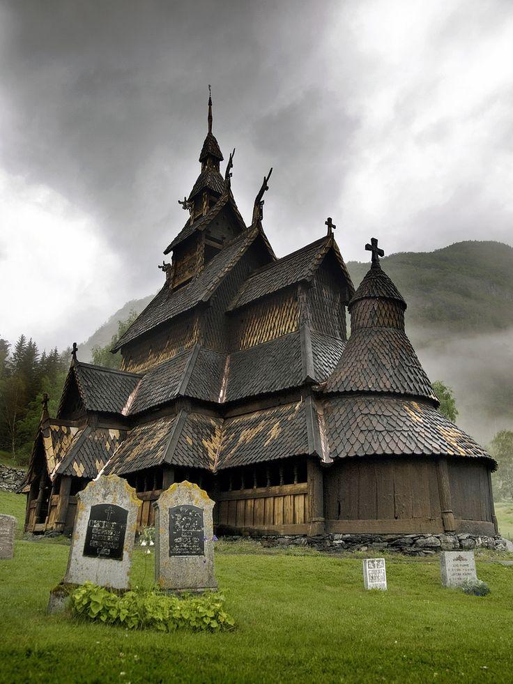 Stavkirke (12th century ) - Norway
