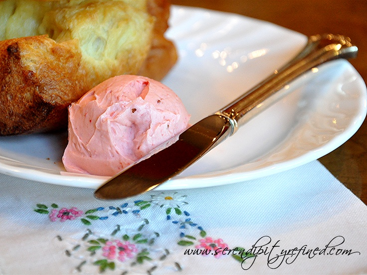Serendipity Refined - Popovers and strawberry butter recipe