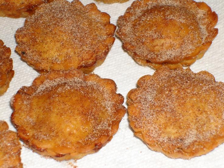 Mini fried apple pie | My Baking | Pinterest