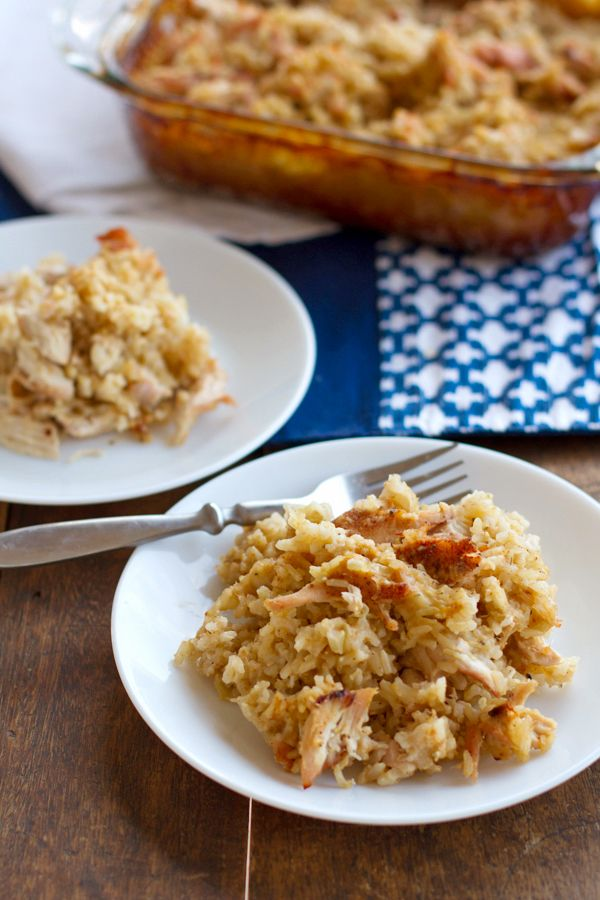 chicken and rice casserole, includes a recipe for making your own ...