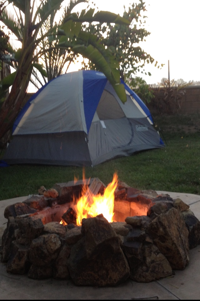 Backyard camping  Party Ideas  His  Pinterest