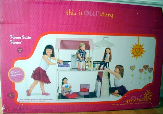 Our generation doll house want ag dolls pinterest for Generation house