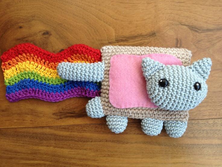Nyan Cat Amigurumi Free Pattern : Nyan Cat amigurumi