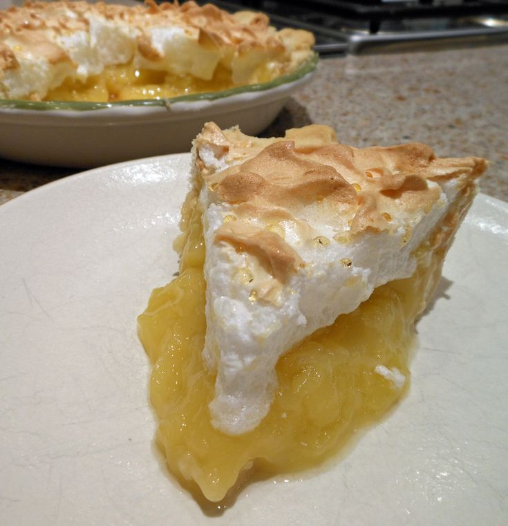 Peach Juice Meringue Pie   Cakes, Cupcakes & Pies   Pinterest