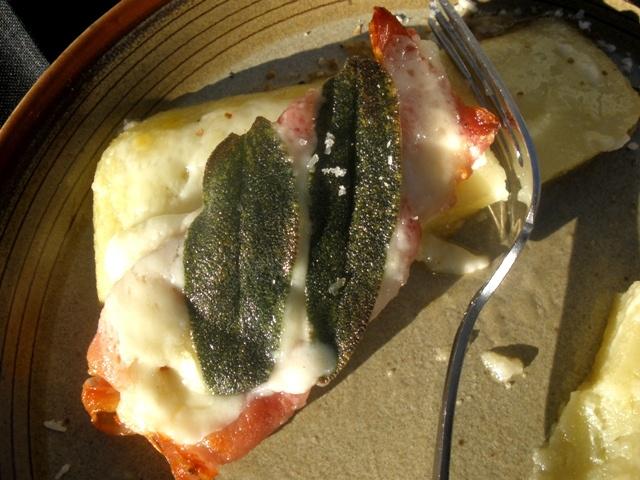 Baked Polenta with Prosciutto and Fontina - Delia Smith 35