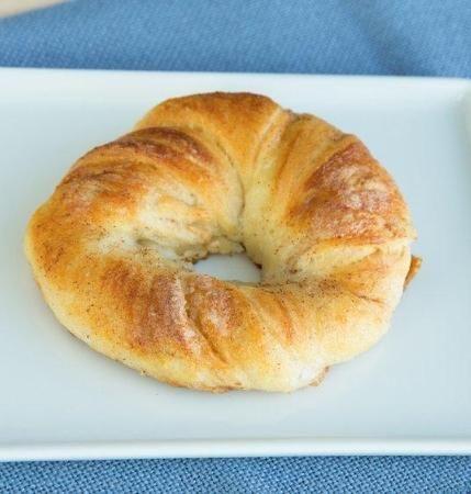 Cinnamon-Sugar Crescent Bagels | Recipe