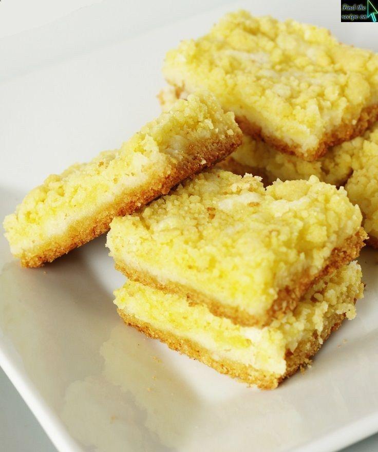 Lemon Square Bars | Sweet Treats | Pinterest