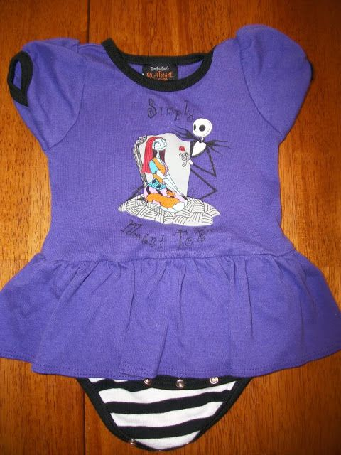Nightmare before Christmas onesie | Future Grand baby maybe! | Pinter ...