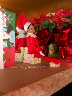 Daily Messes: Elf On The Shelf: Day 3 | Christmas | Pinterest
