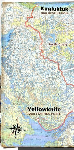 coppermine nunavut map