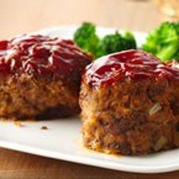 30-Minute Mini Meat Loaves | Breakfast*Brunch*Lunch*Dinner | Pinterest