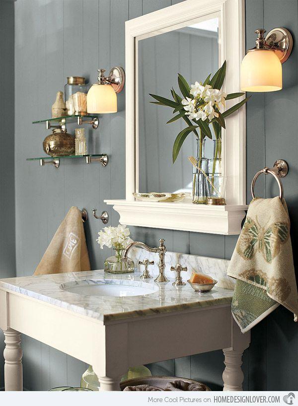 Serene bathroom sanctuary wall color master bed bath for Serene bathroom ideas
