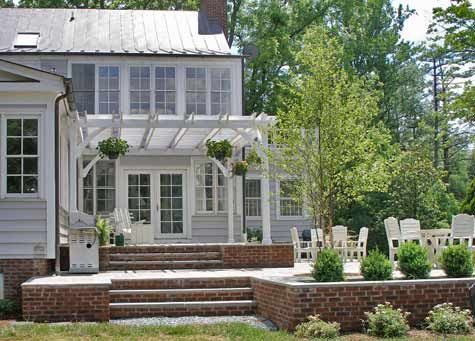 two level bluestone patio costs patios porches pinterest
