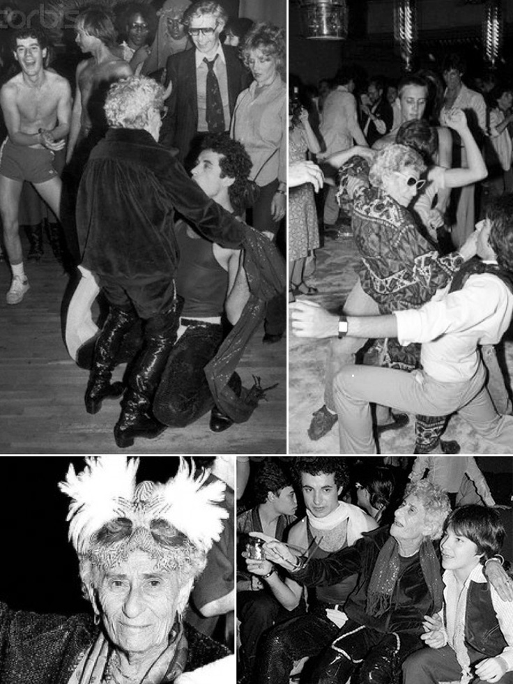 "Sally Lippman, Studio 54's fabulous ""Disco Sally"""
