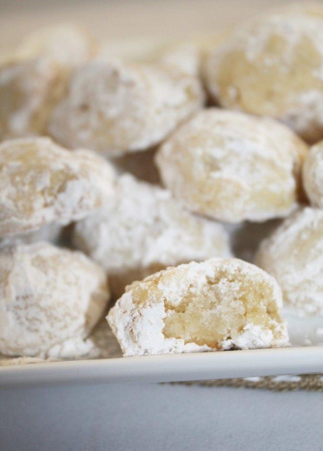 Christmas Cookies - Eggnog Meltaways - Sweet Remedy