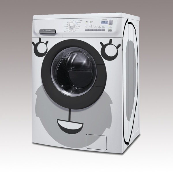 Stickers pour lave linge koala wash - Sticker machine a laver hublot ...