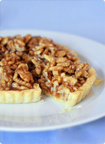 Honey and walnut tart | Cosy autumn | Pinterest