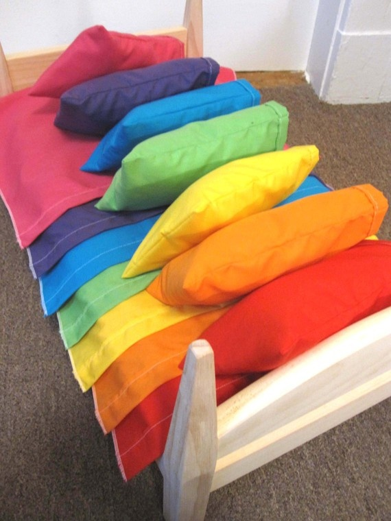 One Sheet Pillow And Pillowcase Set Custom Color
