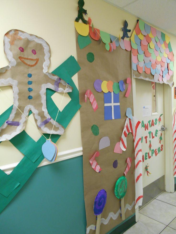 Candyland Christmas Door Decoration Ideas : Candyland door bulletin board and decor