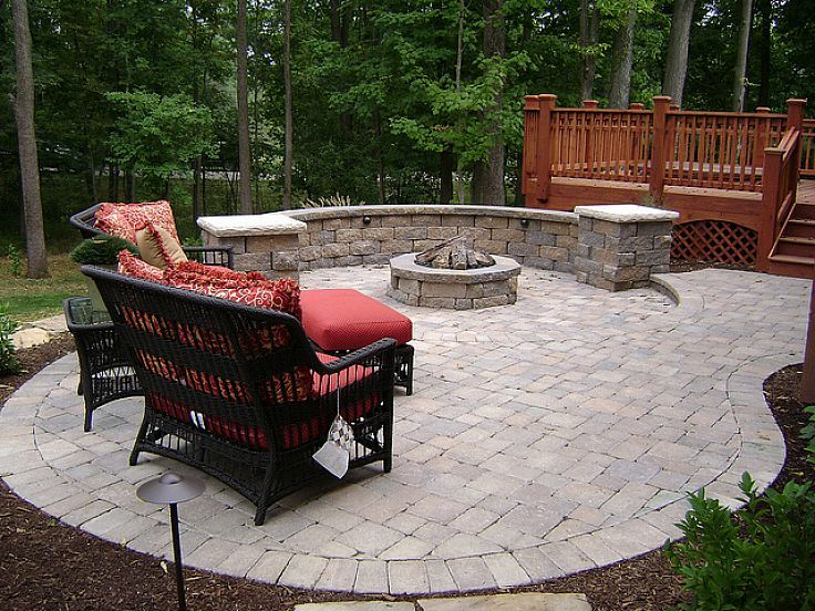 small outdoor patio ideas on a 736 552 pixels