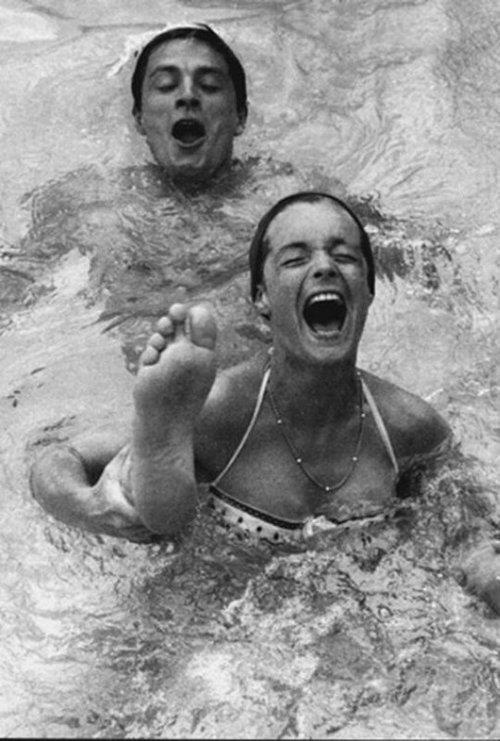 Alain delon and romy schneider romy pinterest for Alain delon romy schneider la piscine
