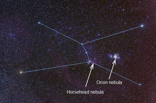 orion nebula location - photo #35