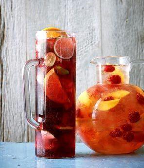 ... : Classic Sangria, Raspberry-Mango Sangria | Seattle Times Newspaper