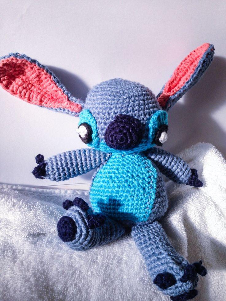 Amigurumi Stitch Free Pattern : Free Stitch Crochet Amigurumi Pattern DIY & Crafts ...