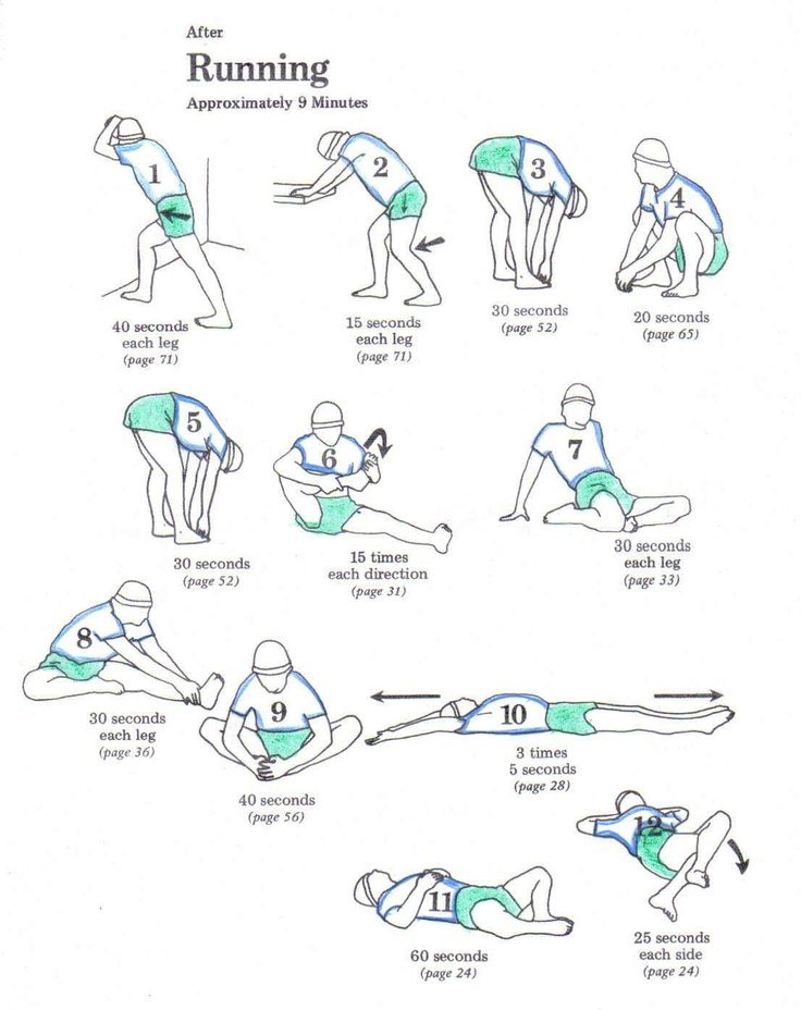 4 Great Cool-Down Stretches