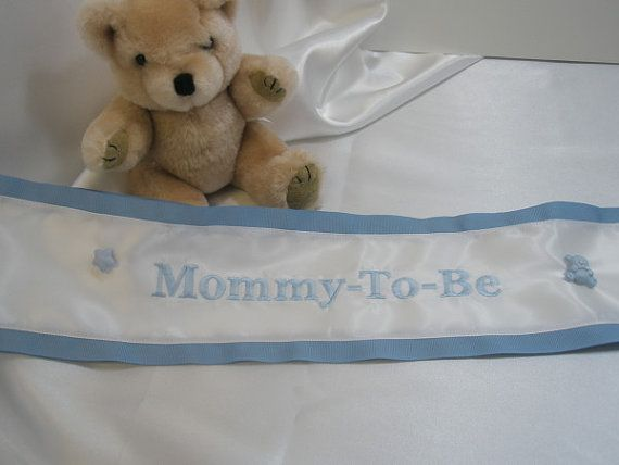 baby shower sash gift ideas pinterest