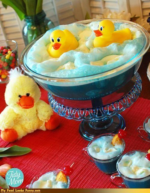 Ducky Bath Punch Funny Food Pinterest