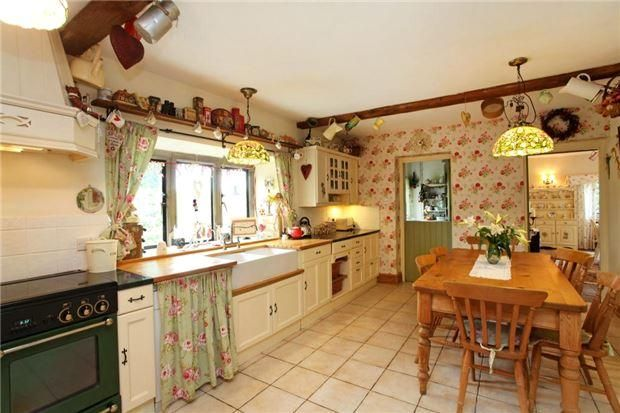 old country kitchen style Country Cottage Look