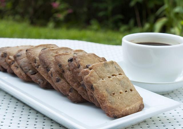 Chocolate-Espresso Shortbread Cookies | Desserts | Pinterest