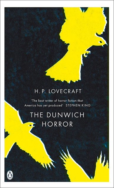 """""""The Dunwich Horror""""  H.P. Lovecraft - One of the 10 titles in Penguin's 2008 horror series."""