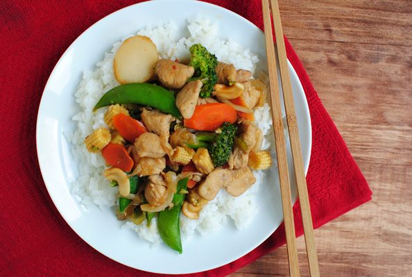 Spicy Cashew Stir-fry   Freakin Awesome   Pinterest