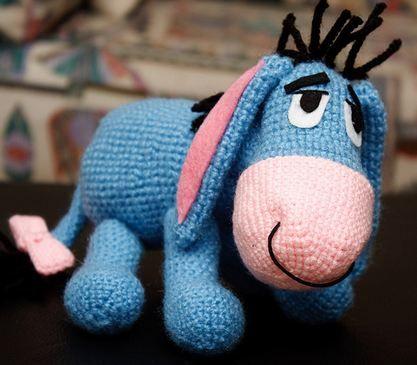 AMIGURUMI EEYORE CROCHET PATTERN Crochet Patterns Only
