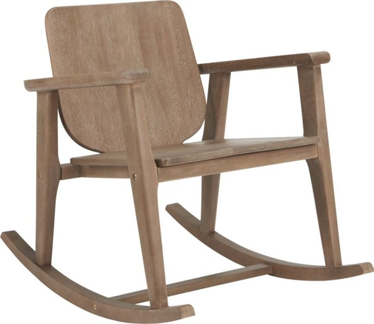 Outback Rocking Chair CB2 Things I Want Pinterest