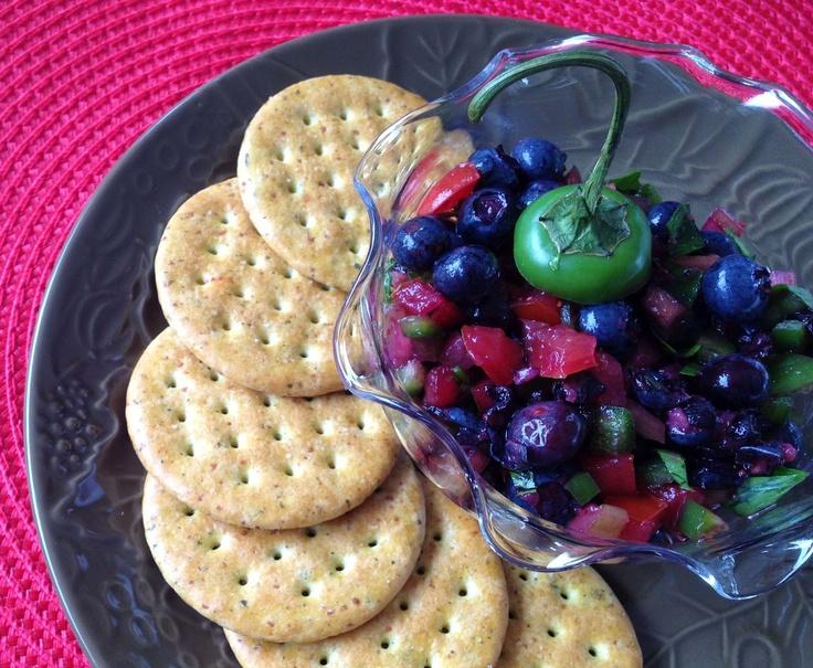 Blueberry Salsa | BBQ Chow | Pinterest