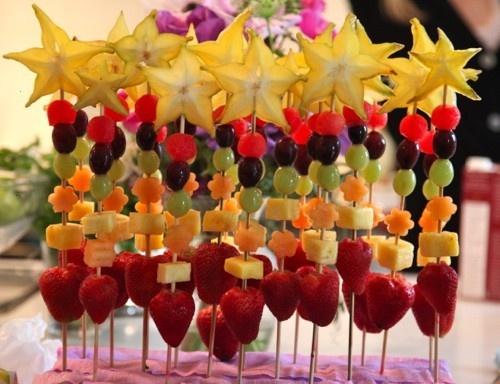 Fruit Wands | Party ideas | Pinterest