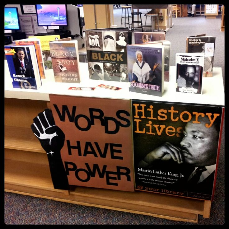 Black History Month   School Library Decorations   Pinterest