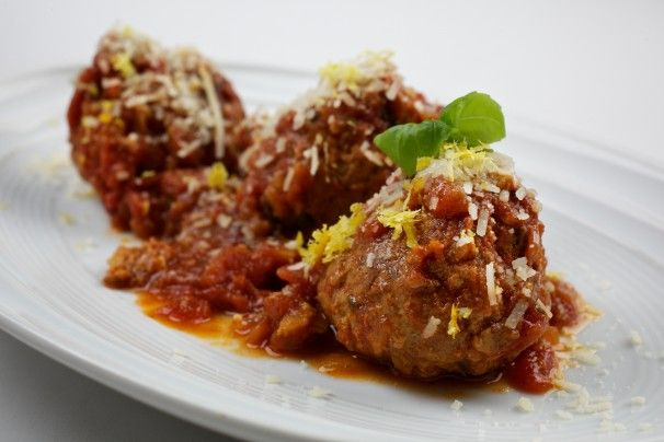 Pork Meatballs With Apple and Lemon Thyme